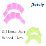 Silikon-Handvernetzte Flipper für Schwimmen