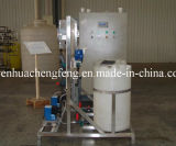 Dosando o dispositivo para o equipamento do tratamento da água