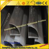 Profil en aluminium de tube de profil d'obturateurs de roulement d'approvisionnement d'usine avec la taille et les couleurs de Custimized