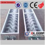 Transmissor de parafuso de tubo de tubo flexível na indústria de mineração