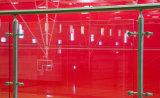 [أولترا] تآكل - مقاومة [ستينلسّ ستيل] شرفة درابزون زجاجيّة مع [فلت بر] موقع [ريلينغ سستم]