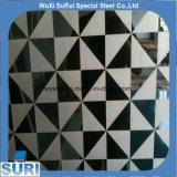 304 ätzte Edelstahl-dekorative Platte