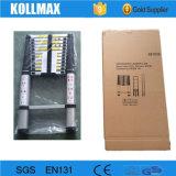 Berufsteleskopische Aluminiumstrichleiter der fabrik-3.8m