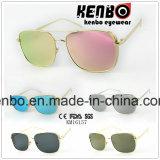 Zero-Base Square Full Metal Frame Km16157 Óculos de sol de metal de moda