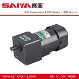 Motor de indução de corrente monofásica de 60W com redução de engrenagens e controlador de velocidade
