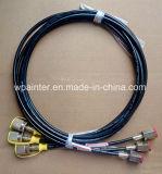 Boyau vérificateur de pression/éprouvette/canalisation de boyau flexible de 400 barres