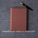 2017 het Notitieboekje van de Samenstelling van de Douane van het Dagboek van het Notitieboekje van het Leer