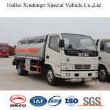 5cbm Dongfengのユーロ4の燃料タンクのトラック