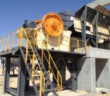 Triturador de maxila da pedra da eficiência elevada para a pedra do granito (JC100)
