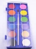 torta del color de agua de la alta calidad de los colores 2.8cm*12 para los cabritos y los estudiantes