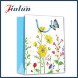 Bolsos de papel personalizados insignia promocional del regalo del diseño del OEM de las ventas al por mayor