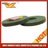 roda de lustro não tecida de 100X12mm (cor verde, 120#)