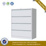 Puder-Beschichtung-Stahlmetallzahnstangen-Aktenschrank (Bücherschrank, Bücherregal) (HX-MG05)