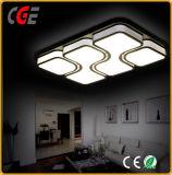 De witte AcrylLamp van het Plafond met Decoratief Patroon voor Huishouden