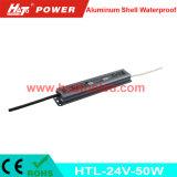 gestionnaire imperméable à l'eau en aluminium de 24V50W DEL avec la fonction de PWM (HTL Serires)