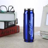 copo morno da forma das latas da caneca do Thermos do vácuo dos desenhos animados 300/400ml