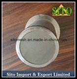 Filtre tissé de cylindre de treillis métallique de l'acier inoxydable 304