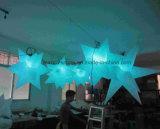 2014 heet-Verkoopt Opblaasbare LEIDEN van de Decoratie van de Ster Licht voor Partij/Festival/Gebeurtenis