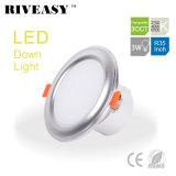 3W 3.5 lumière élevée 3CCT de gestionnaire Integrated de Ce&RoHS d'éclairage de pouce DEL Downlight
