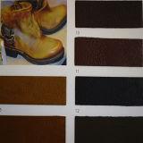 Leer van het Ontwerp Pu van de goede Kwaliteit Retro voor Schoenen (HTS050)