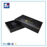 Cajas de tela con caja de regalo de papel plegable rígida