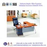 말레이지아 나무로 되는 테이블 컴퓨터 책상 MFC 사무용 가구 (BF-021#)