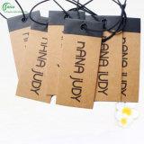 Fabricante do Tag da etiqueta da roupa do papel de embalagem (KG-PA035)
