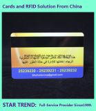 Cartão da lealdade do VIP feito do PVC com listra magnética (ISO 7811)
