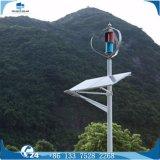Éclairage solaire de stationnement de rue de l'hybride DEL de vent vertical de cellules photovoltaïques