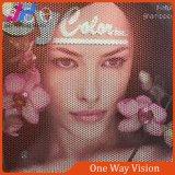 Rolo de sentido único da tela do indicador da visão