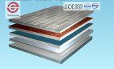 2017 fácil instalar los paneles de pared decorativos interiores incombustibles del MGO del PVC del nuevo diseño