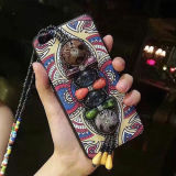 Caso étnico do estilo para a caixa colorida do telefone móvel de iPhone6/6s/7/7s