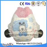 完全な環境のゴムのベルトが付いている100%年の綿の使い捨て可能な赤ん坊のおむつ