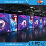 IP65 정면 P3.91 옥외 광고 풀 컬러 임대 LED 스크린