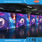 Im Freien farbenreicher Miete IP65 vorderer P3.91 LED-Bildschirm
