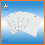 Carte vierge en PVC / ABS en plastique RFID pour système de contrôle d'accès