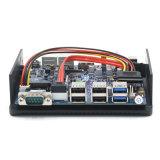 Le PC nano d'Itx de petit ordinateur avec N3160 conjuguent des étalages de NIC 3 que 1 COM mettent en communication