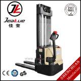 Tipo de passeio superior empilhador elétrico cheio da qualidade 1t-1.6t