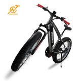 리튬 이온 건전지 공급 중앙 모터 판매를 위한 뚱뚱한 타이어 E 자전거