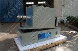four de tube de la rotation 1400c pour l'essai de matériaux d'anode de batterie Li-ion