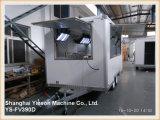 Ys-Fv390d 판매를 위한 판매 해산물 트레일러를 위한 다기능 백색 체더링 차량