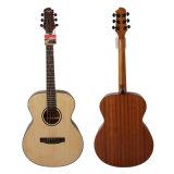 Guitarra acústica sólida hecha a mano de la marca de fábrica Ooo/Om de Aiersi con la caoba (SG02SM-40)