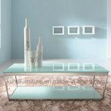 Tavolino da salotto Polished dell'acciaio inossidabile per i piedini del metallo