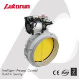 Válvula de borboleta pneumática do cimento do fornecedor de Wenzhou