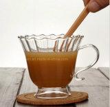 Tasse à café en verre résistant à la chaleur à haute teneur en bore Boron 230ml