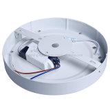 Iluminação energy-saving padrão redonda nova da lâmpada CRI>85 do teto de Europa Downlight da luz de painel do diodo emissor de luz do projeto 12W para baixo