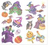 Halloweenの一時入れ墨水転送の入れ墨のステッカーの芸術の入れ墨