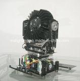 36*18W Rgbwauv 6in1ズームレンズが付いているマルチカラーDMX LED移動ヘッド軽い段階ライト