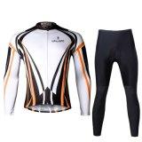 폴리에스테 Bike 또는 Pocket를 가진 Cycling Sets/Suits Men Long Sleeve Breathable/Quick Dry/