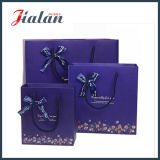 Cute Design Custom Kids Gift Package Ribbon Clothes Paper Bag